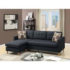 mendosia reversible tufted sectional sofa free shipping today