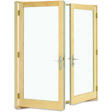 Wood Patio French Doors - inswing patio doors integrity doors
