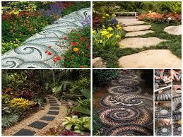 Garden Path Ideas 27 Unique And Creative Diy Garden Path Ideas Remodeling Expense