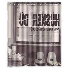Polyester Shower Curtains Hüsker Dü Metal Circus Polyester Shower Curtains 60x72inch Ebay