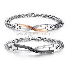 personalized engraved bracelets custom engraved bracelets christmas gift set for couples