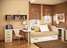 pleasant warm color scheme applying small bedroom paint ideas