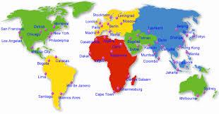time around the world