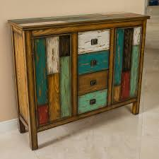 amazon com delaney antique multicolor distressed wood storage