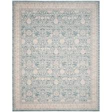 Blue Grey Area Rugs Safavieh Archive Blue Grey 8 Ft X 10 Ft Area Rug Arc672b 8 The