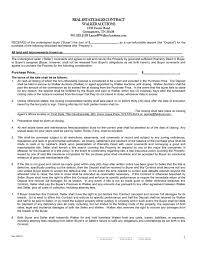 doc 575709 real estate purchase agreement template u2013 real estate