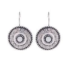 clip on stud earrings aliexpress buy bijoux ethnic vintage silver earrings simple