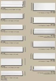Trim Styles Polyurethane Baseboard Styles And Sizes Townhouse Pinterest