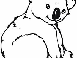 koala bear coloring page powered by pulses free printable coloring page