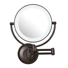 Bedroom Wall Mirrors With Lights Bedroom Best Lighted Makeup Mirror Wall Mounted Makeup Mirror