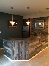 Cool Man Cave Lighting by Reclaimed Weathered Wood Wood Walls Planking And Plank