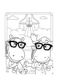 backyardigans coloring pages print free gilboardss