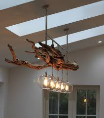 Beachy Chandeliers Decor Adorable Beautiful House Bird Style Driftwood Chandelier