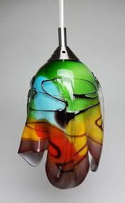 Mexican Pendant Lights Mexican Glass Table L Earth Tones Hanging L And Black