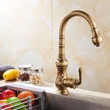 online shop fashion style kitchen faucets antique bronze finish