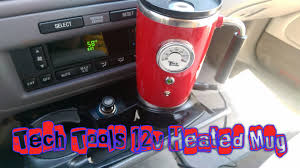 tech tools 12 volt heated mug review youtube