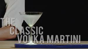 vodka martini how to make the classic vodka martini best drink recipes youtube