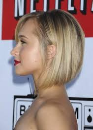stacked hairstyles thin angled bob fine blonde hair google search hair pinterest