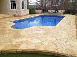 travertine pavers gallery immersion poolsimmersion pools