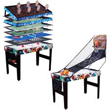 4 in one game table medal sports 48 12 in 1 multi game table walmart com