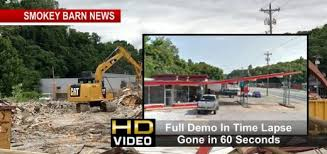 Springfield Barn Old Springfield Landmark Comes Down Time Lapse U2013 Gone In 60 Seconds