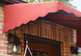 B Q Awnings Front Entry Makeover