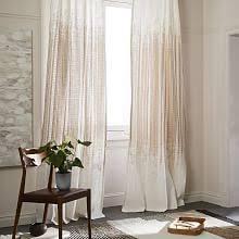 Gold Satin Curtains Window Treatments West Elm