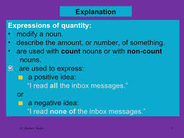 subject verb agreement using expressions of quantity by dr shadia