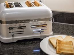 Red Toasters For Sale Kitchenaid Pro Line 4 Slice Toaster Review Cnet