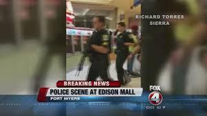 Edison Mall Map Edison Mall Shots Fired Youtube