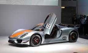 porsche 918 rsr porsche 918 rsr concept at 2011 detroit auto show pictures