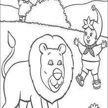 Noddy Coloring Pages 52 Free Printables Of Cartoon Characters To Coloring Scares