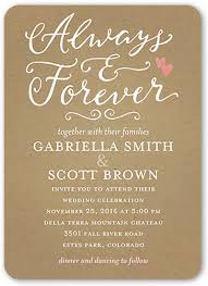 wedding invitations shutterfly forever hearts 5x7 wedding invitations shutterfly