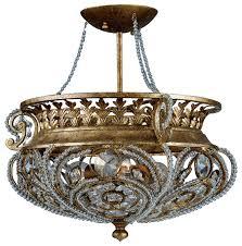 crystal semi flush mount lighting intrigue crystal semi flush mount with regard to elegant house light