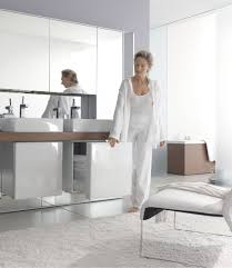 mirrowall mirror wall system from duravit digsdigs