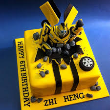 transformers cakes bumblebee transformers fondant cakes jb kl penang cakedeliver