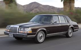 Lincoln Continental Price Driving Impressions 1986 Lincoln Continental Givenchy Hemmings
