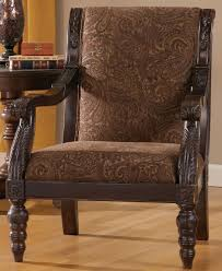 striped pattern gray fabric small accent chairs with arms features