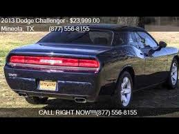 dodge challenger 2013 for sale 2013 dodge challenger sxt plus 2dr coupe for sale in mineola