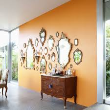 5 times orange decor was done just right huffpost