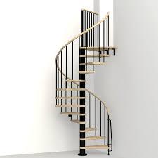 arke phoenix black 47 in spiral staircase kit k07082 the home depot