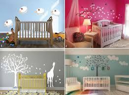 chambre bébé peinture murale le pochoir mural chambre bébé personnalisez la déco sans limite