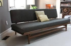 restoring 1963 scandinavian twin sofas modhomeec