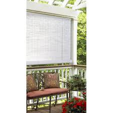 radiance 1 4 u0027 u0027 oval pvc roll up blinds walmart com