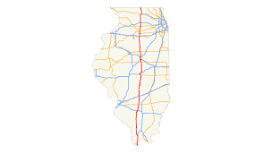 Elgin Illinois Map by U S Route 51 In Illinois Wikipedia
