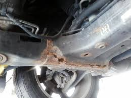 2005 chrysler pacifica rusted out subframe 22 complaints