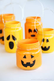 pumpkin jars add treats candles or nothing at all make it