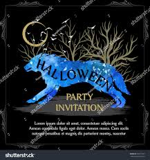 halloween invite template virtren com