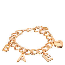 rose bracelet charm images Rose gold tone bae charm bracelet claire 39 s us jpg