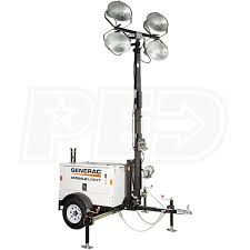 hertz light tower rental generac mlt3060 6kw towable diesel light tower w kubota engine